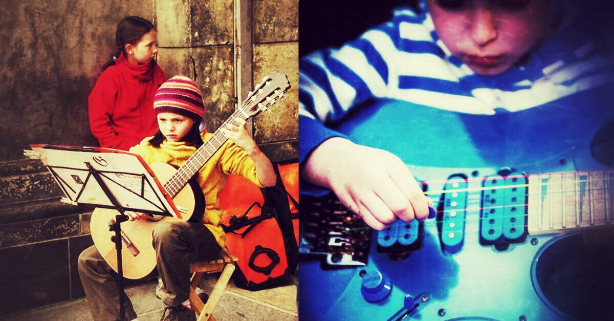 Children playing Guitar : Top 10 children guitar video stars!