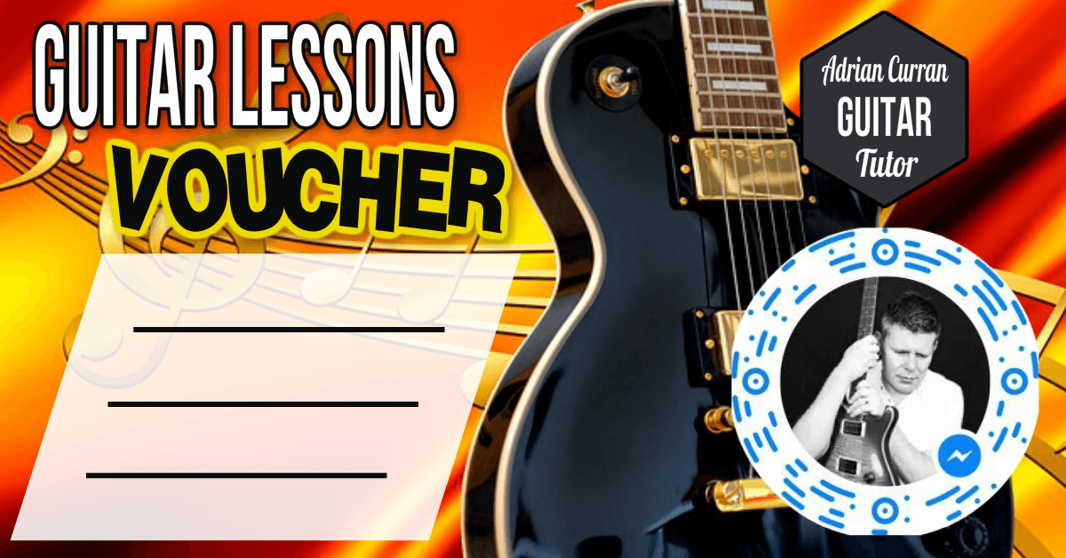 Adrian Curran | Guitar Lesson Gift Voucher