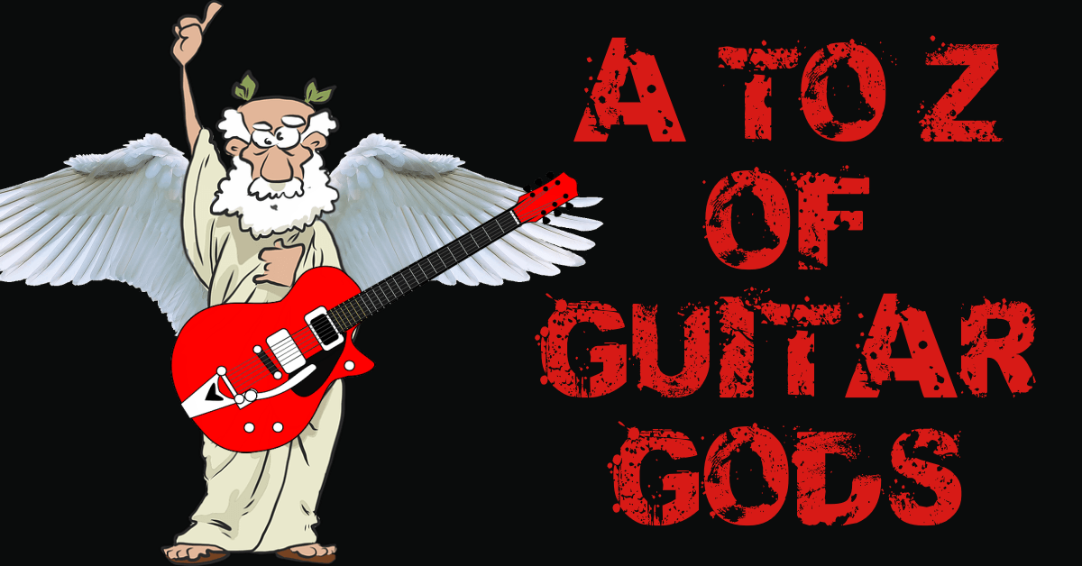 A to Z of Guitar Gods customisable Backing Tracks