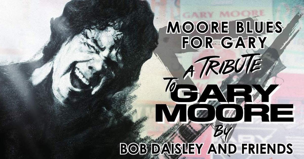 MOORE BLUES FOR GARY – JOHN SYKES PAYS TRIBUTE!