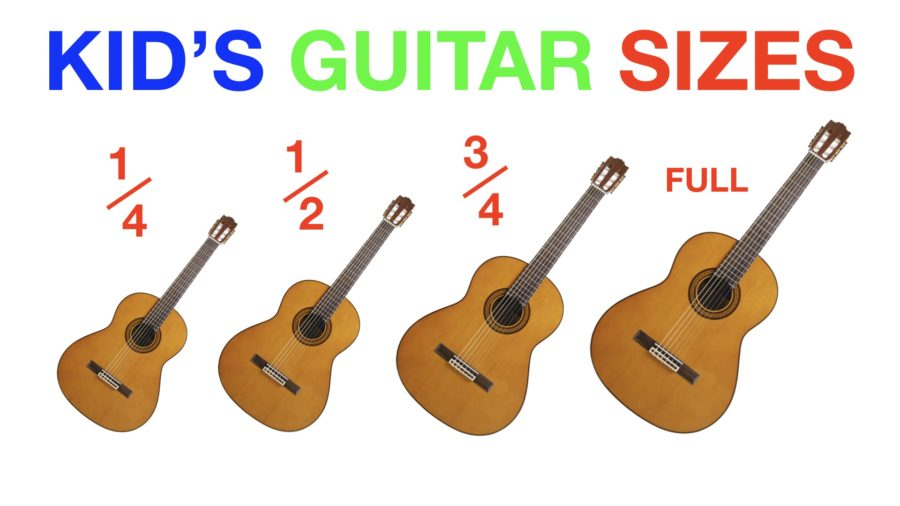 what size of guitar for a child guitar sizes explained. Black Bedroom Furniture Sets. Home Design Ideas