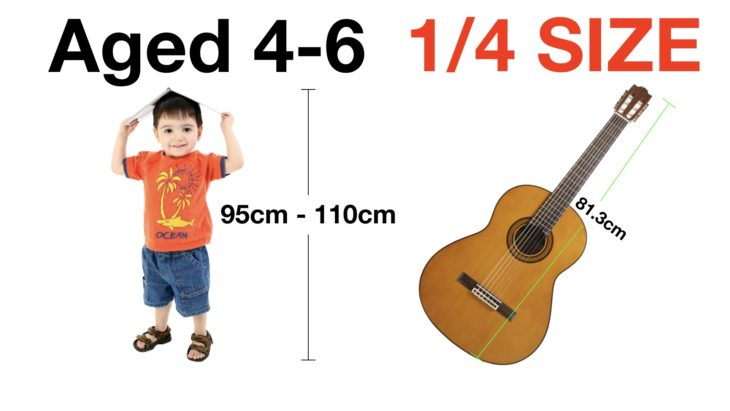 What size of guitar for a 4 year old