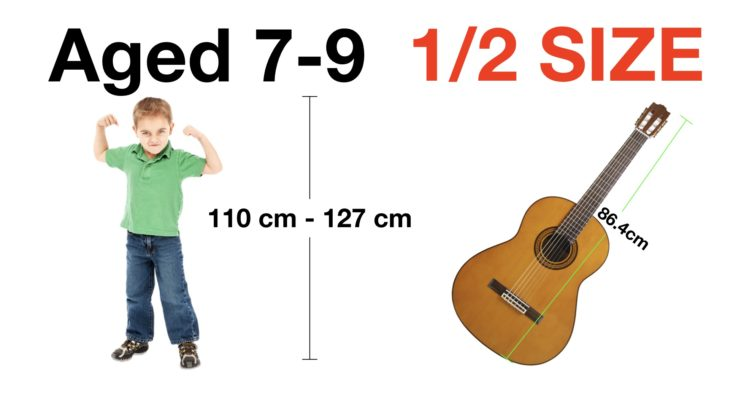 What size of guitar for a 7 year old