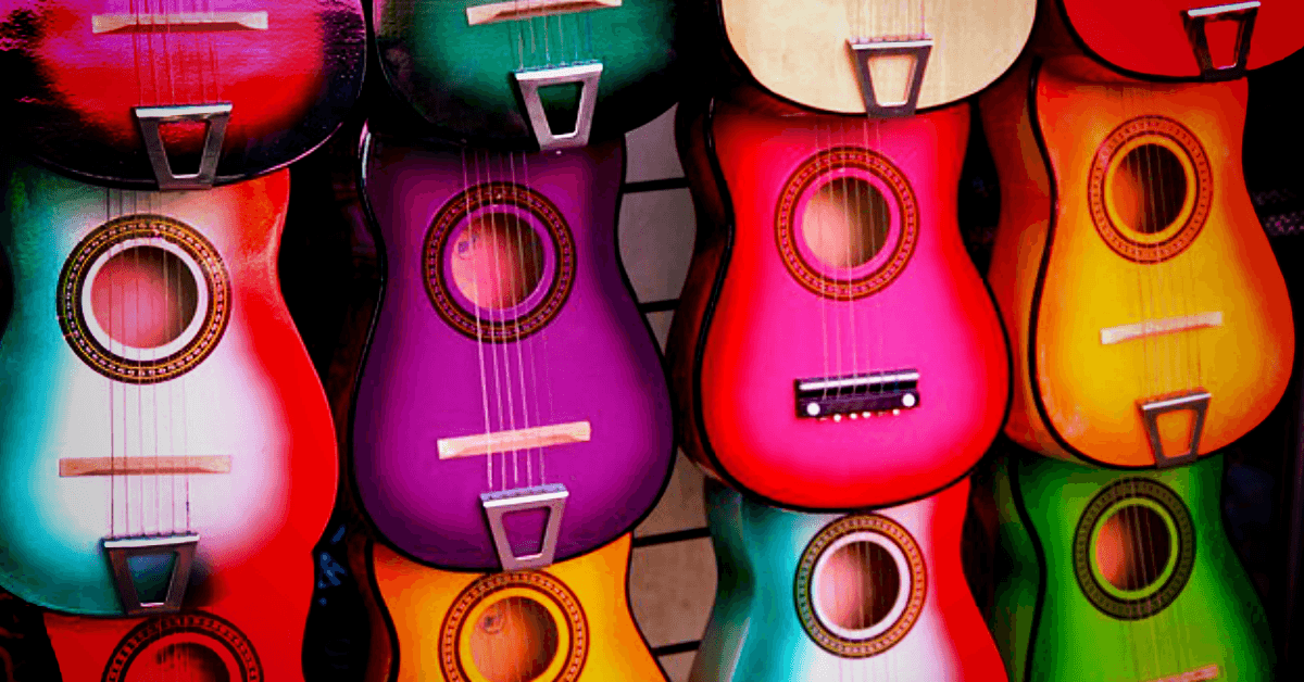 What size of guitar for a child? Guitar sizes explained