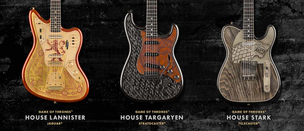 Guitar Game of Thrones